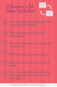 Stop!  Don't hit Send! Ask yourself these six questions before hitting Send!